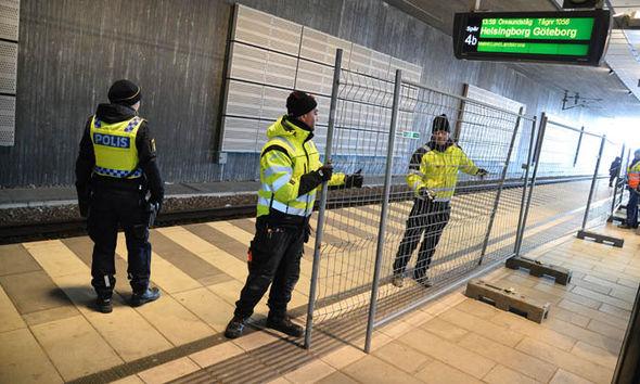 Swedish border control