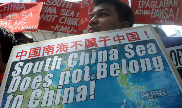 Protests against China's ownership