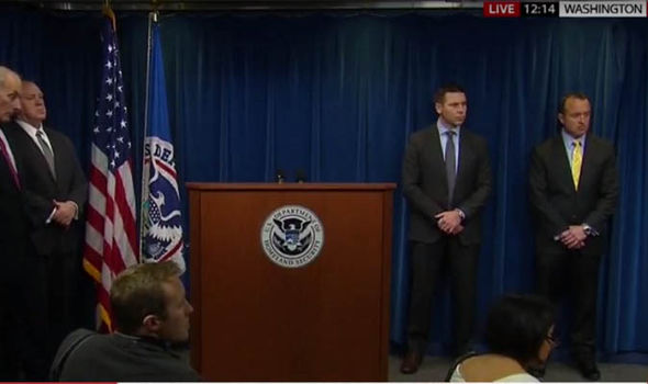 Homeland Security presser