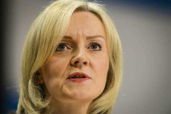 Secretary of State for Justice Liz Truss