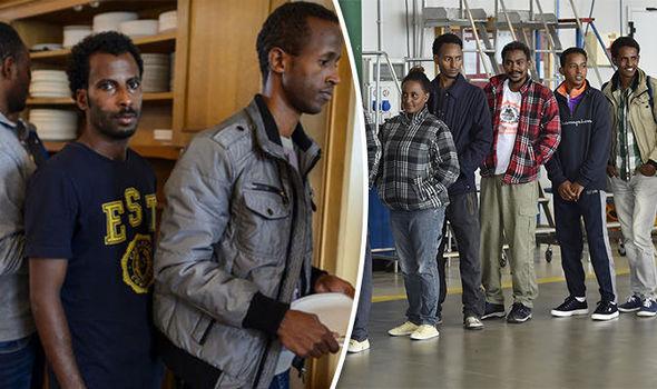 Switzerland's PM and migrants