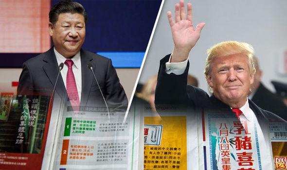 trump china media