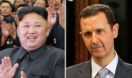 Wiadomości z ostatniej wojny światowej - Kim Jong un i Bashar Assad