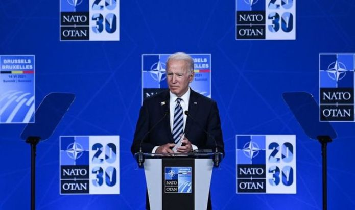 Joe Biden accuses Donald Trump of 'fracturing' Republican Party with his 'phony populism'