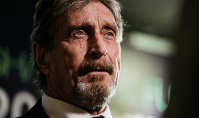 'Larger than life' – John McAfee tributes as tech titan found dead in Spanish prison cell