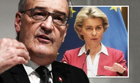EU humiliated as Swiss overwhelmingly reject joining Brussels bloc - bombshell poll