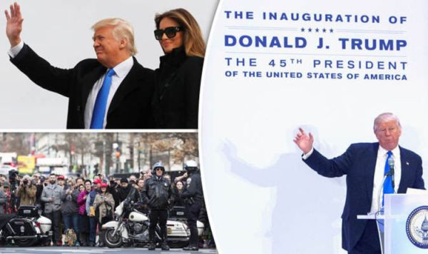 Donald Trump Presidential inauguration: Washington turned ...