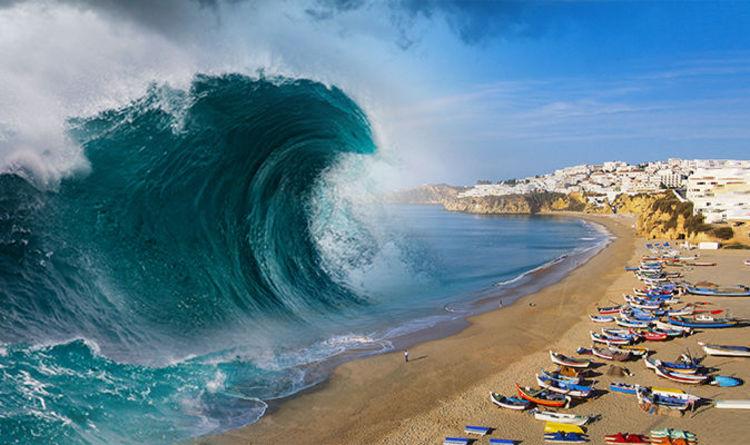 Worlds Biggest Tsunami Ever