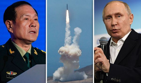 World War 3 fears rocket as Chinese defence minister ...