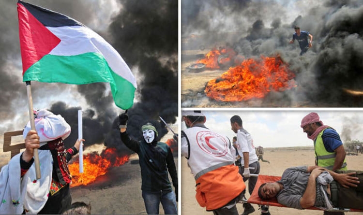 Israel Snipers Kill 41 Palestinians: 1,300 Injured As 35k