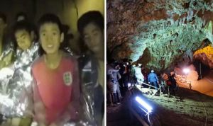 Thailand cave rescue: Boy wearing England shirt loves