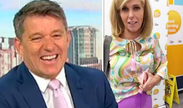 Kate Garraway mocked by Ben Shephard as she suffers outfit mishap: 'I had an accident!'