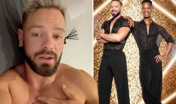 John Whaite apologises to fans as he addresses why he won't be smiling on Strictly