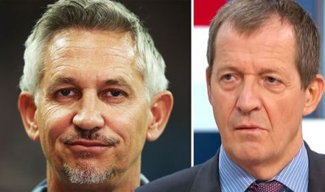 'Even I worked it out' Gary Lineker mocks Alastair Campbell as he slams Boris' Covid tests