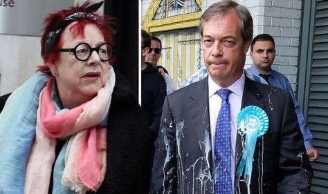 Jo Brand speaks out on 'very difficult' time after Nigel Farage battery acid joke backlash