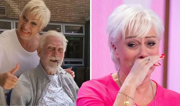 'Heart in pieces' Denise Welch thanks fans as she shares her 'deep grief' over dad's death