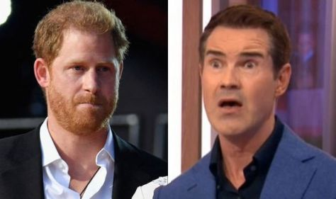 'Had last laugh' Prince Harry's girlfriend worry before Meghan Markle mocked by Jimmy Carr