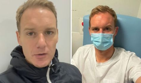 'Blood pouring out' Strictly's Dan Walker relives injury as he shares new health update