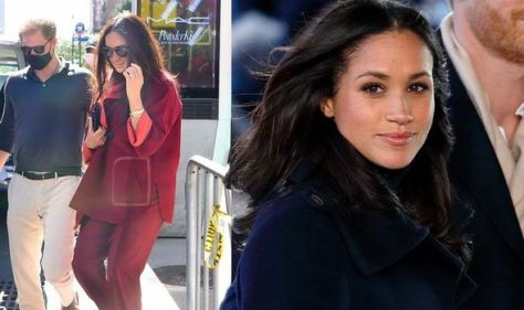 'Not an accident' Meghan Markle's unseasonable wardrobe a 'vulgar' stunt claims Lady C