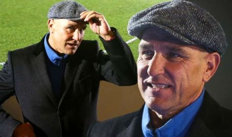 Vinnie Jones found four males trying to run off with his car and TV after he 'popped out'