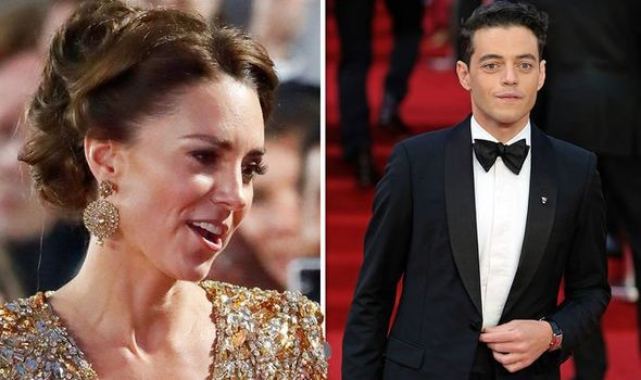 Kate Middleton left 'taken aback' by personal questions from James Bond actor Rami Malek