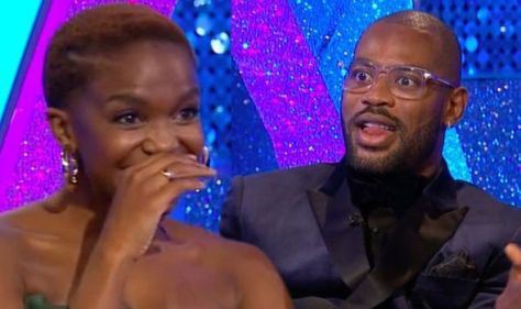 Oti Mabuse on embarrassing Strictly moment as partner Ugo Monye says she 'loves a grower'