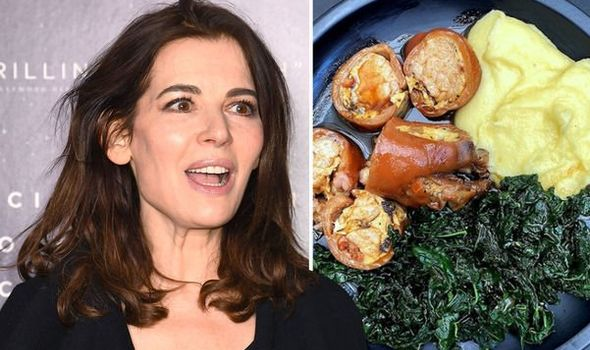 Nigella Lawson divides fans with pre-made dinner which includes item used as dog's treat