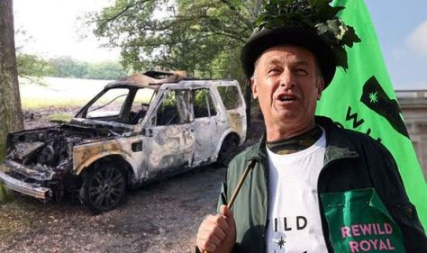 'It was an inferno' Chris Packham left shaken by car blast attack outside country home