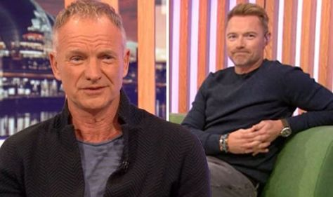 'I'm working class' Sting, 70, shuts down Ronan Keating during appearance on The One Show