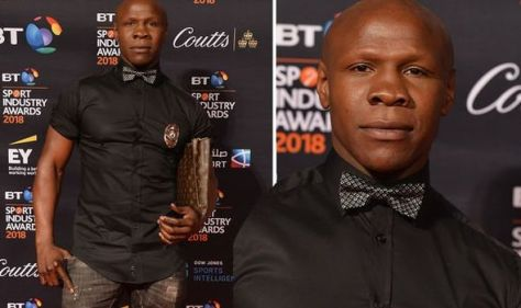 Chris Eubank mugged by thief who ran off with his Louis Vuitton bag 'like a sprinter'