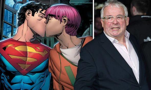 Christopher Biggins sparks fury as he slams Superman's bisexual son as 'pandering to woke'