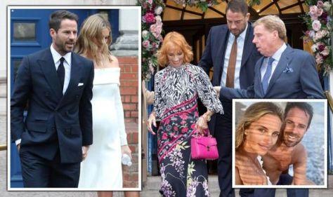 Jamie Redknapp marries pregnant girlfriend Frida Andersson at secret low-key wedding
