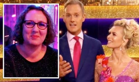 Dan Walker's wife in rare appearance as Strictly fans left 'in tears' amid moving tribute