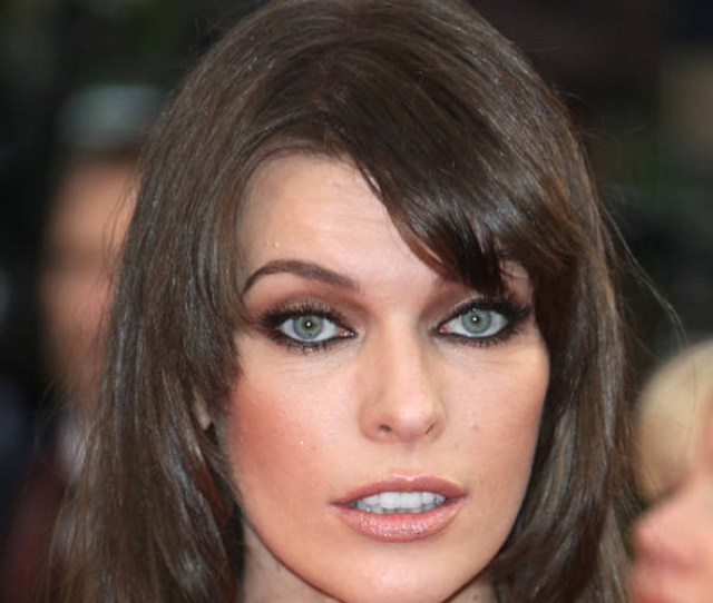 Milla Jovovich Has A Saucy Way Of Cheering Up Her Husband When They Are Thousands Of Miles Apart She Sends Him Photos Of Herself Naked