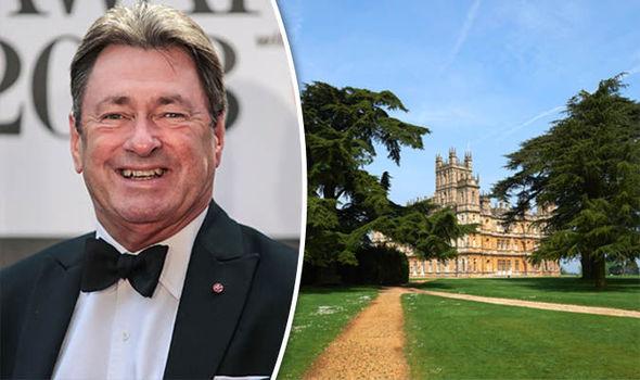 Alan Titchmarsh Downton Abbey