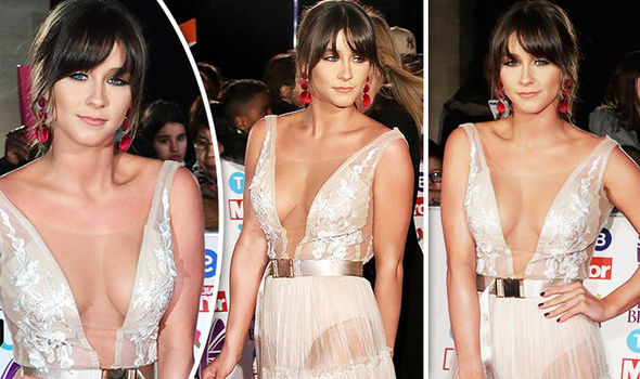 Brooke Vincent wowed in a see-through dress
