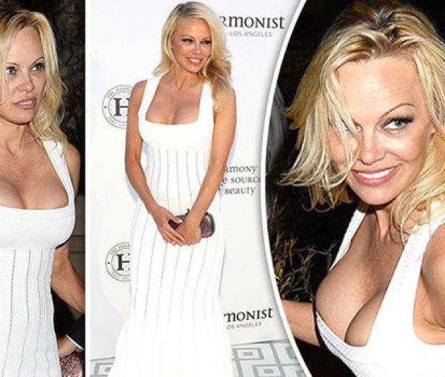 Cannes  Pamela Anderson Nip Slip Wardrobe Malfunction Cleavage