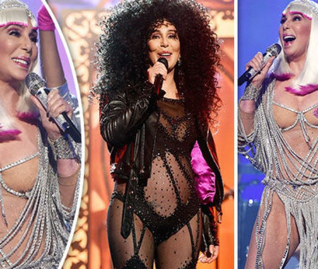 Cher Flaunted Her Figure On Stage