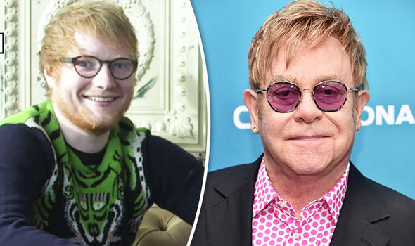 Ed Sheeran made the joke about Elton John
