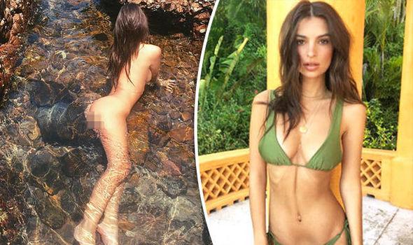 """Képtalálat a következőre: """"Emily Ratajkowski poses nude underwater"""""""