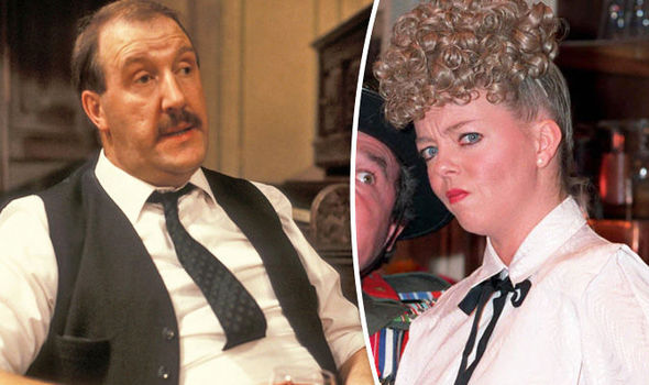 Gorden Kaye Sue Hodge