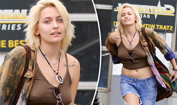 Paris Jackson nipple piercings DAPL Standing Rock