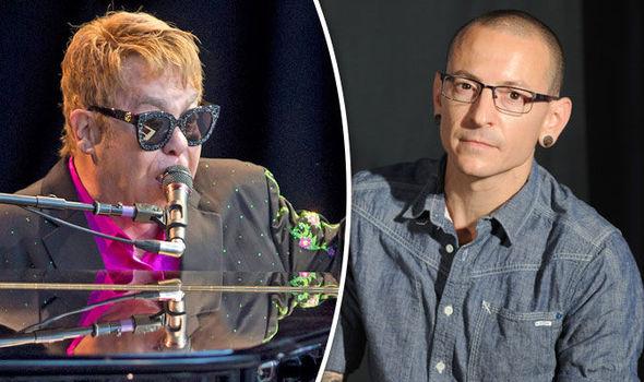 Sir Elton John Chester Bennington CHris Cornell