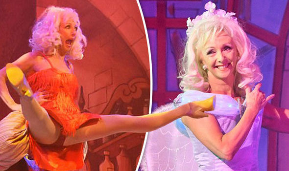 Strictly Come Dancing star Debbie McGee flashes knickers ...