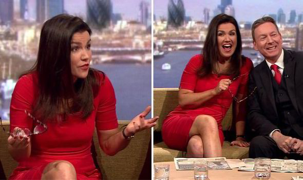 Susanna Reid back on BBC just months after dumping ...