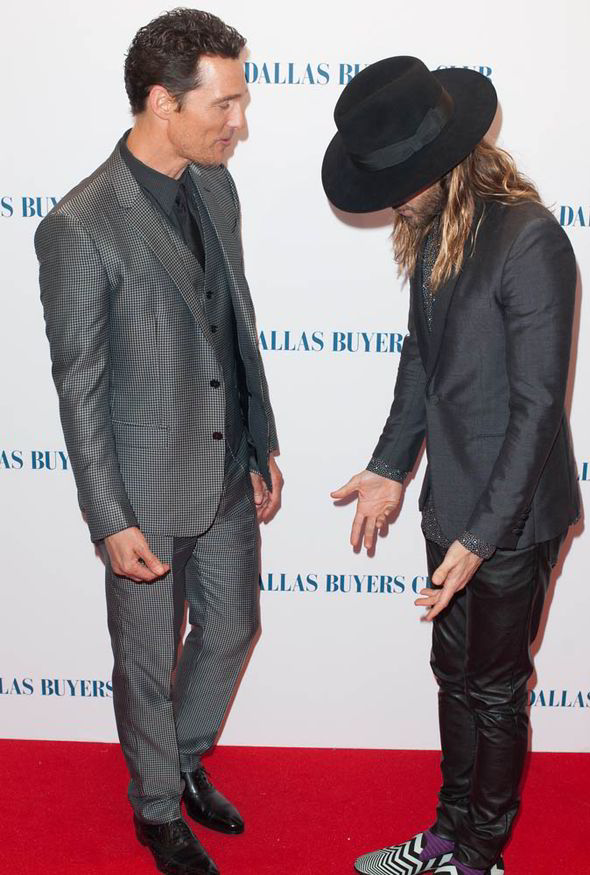 Leto Tie And Suit Jared