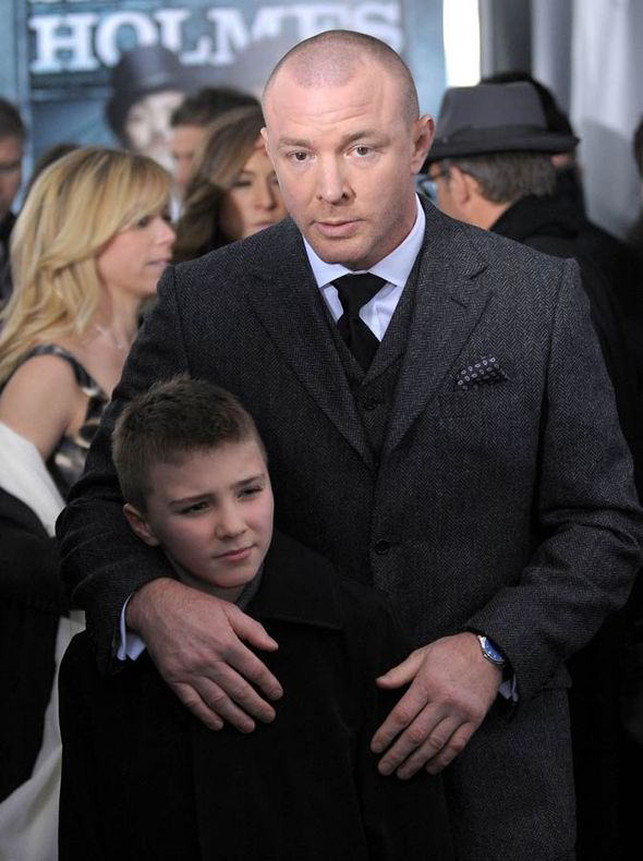 Rocco Ritchie is defended by Madonna