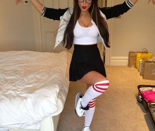 Tulisa Contostavlos Ghetto Geek Sexy Instagram Photos Singer