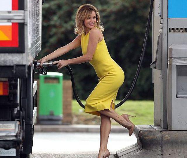 Amanda Holden Sexy Stylish Figure Book Autobiography Petrol Lorry