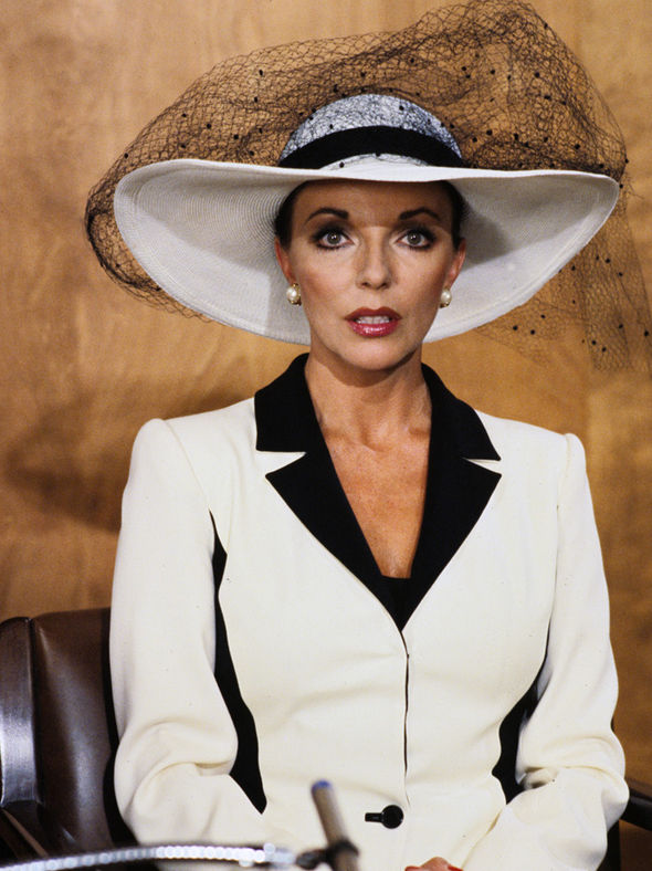 Joan Collins says Donald Trump inspired Dynasty's Alexis ...